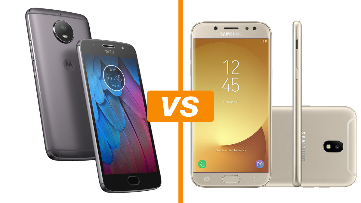22b4c9ca1 Moto G5S vs Galaxy J5 Pro  compare ficha técnica e preço dos celulares