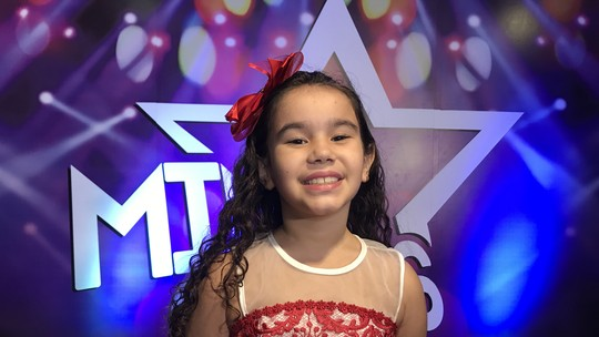Maria Luiza fica com a última vaga na final do 'Mini Stars'