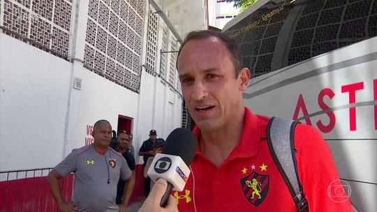 No banco, Magrão vive expectativa de virar maior vencedor do Sport