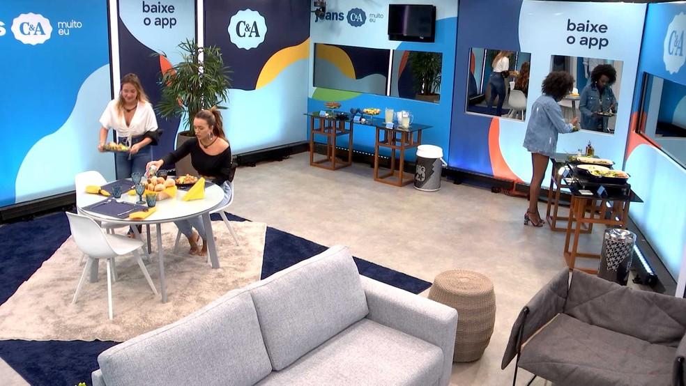 Almoço do Anjo C&A — Foto: Globo