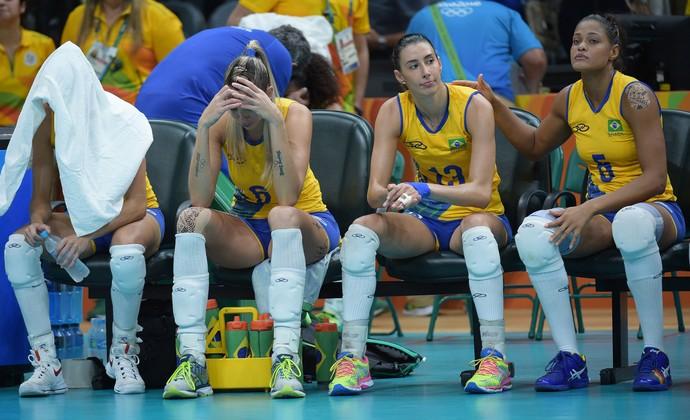 Brasil x China quartas de final vôlei feminino Rio 2016 (Foto: Divulgação/FIVB)