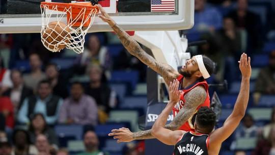 Melhores momentos de Portland Trail Blazers 104 x 115 New Orleans Pelicans pela NBA