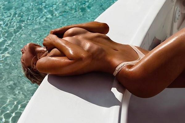 A modelo australiana Gabby Epstein (Foto: Instagram)