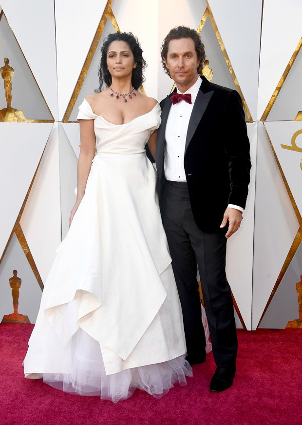 Camila Alves e Matthew McConaughey (Foto: Getty Images)