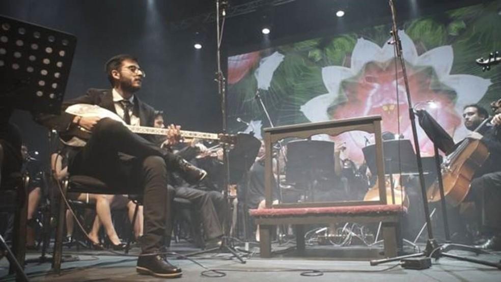 Músicos da Latin Vox — Foto: LATIN VOX MACHINE/DIVULGAÇÃO Via BBC