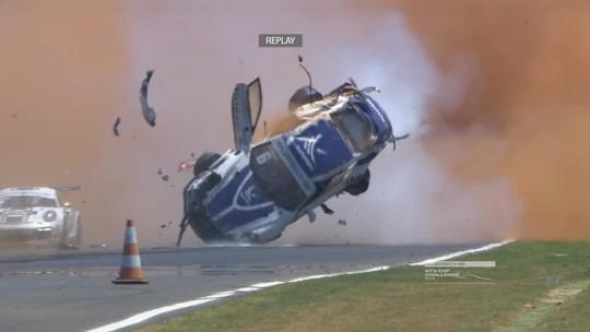 """Pedro diz não se lembrar de acidente, e Nelson relata tensão: """"Susto grande"""""""