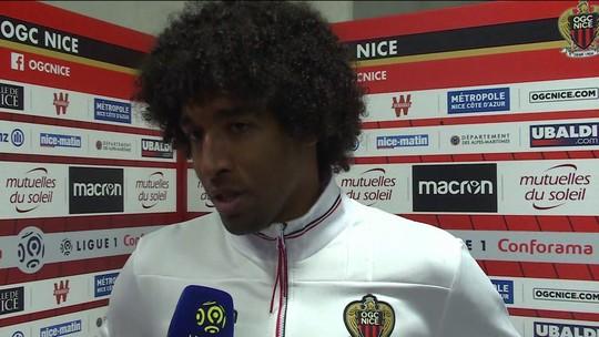 Dante reclama de arbitragem do Campeonato Francês