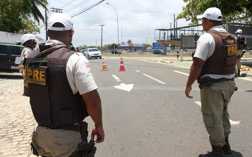 Operação das polícias rodoviárias federais e estaduais foi realizada durante o feriado prolongado (Foto: Divulgação/SSP-BA)