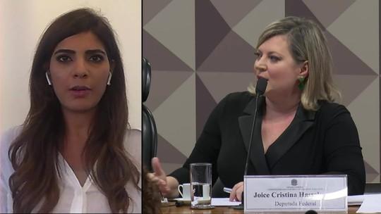 A cúpula do PSL quer Joice Hasselmann na liderança da Câmara