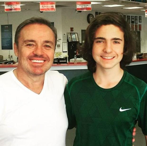 Gugu e o filho, João Augusto Liberato (Foto: Reprodução/Instagram)