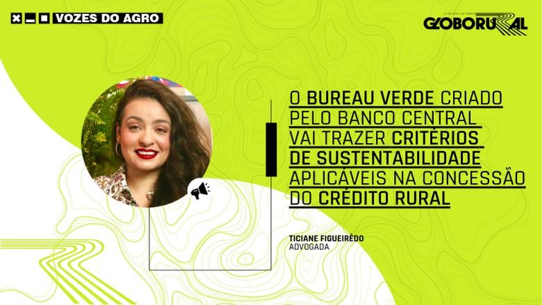 Vozes do Agro - Ticiane Figueirêdo (Foto: Estúdio de Criação)