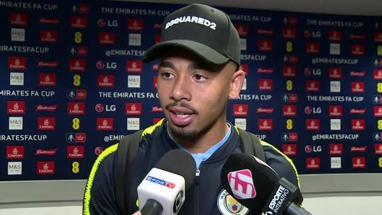 Gabriel Jesus revela pedido de desculpas de Sterling, ri de gol dividido e exalta atual momento