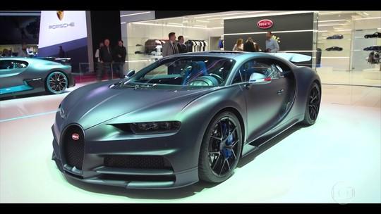 Conheça o novo supercarro da Bugatti