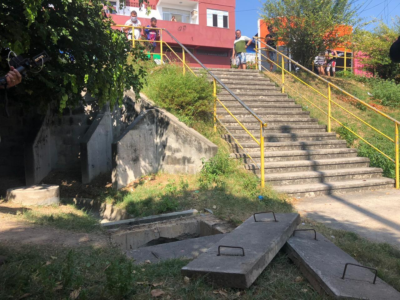 Corpo de homem é encontrado dentro de bueiro em conjunto residencial da Zona Sul de Manaus