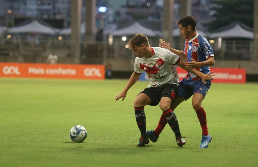 Bahia já está classificado, enquanto o Vitória luta por uma vaga nas quartas de final do Nordestão — Foto: TIAGO CALDAS/FOTOARENA/ESTADÃO CONTEÚDO
