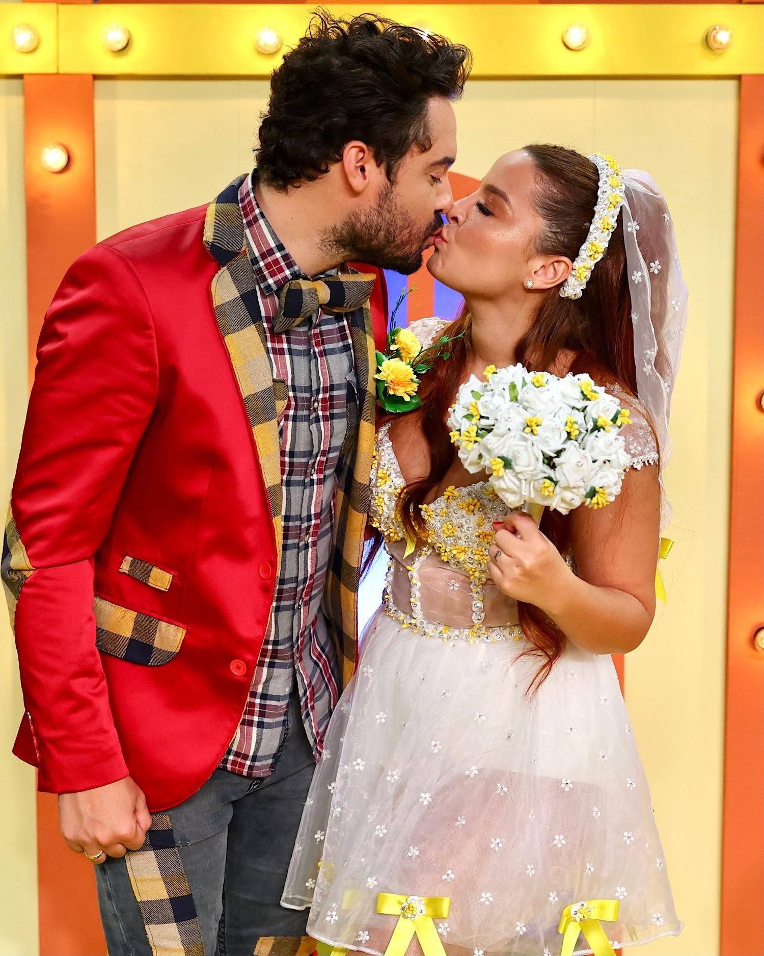 Fernando e Maiara (Foto: Brazil News/Manuela Scarpa)