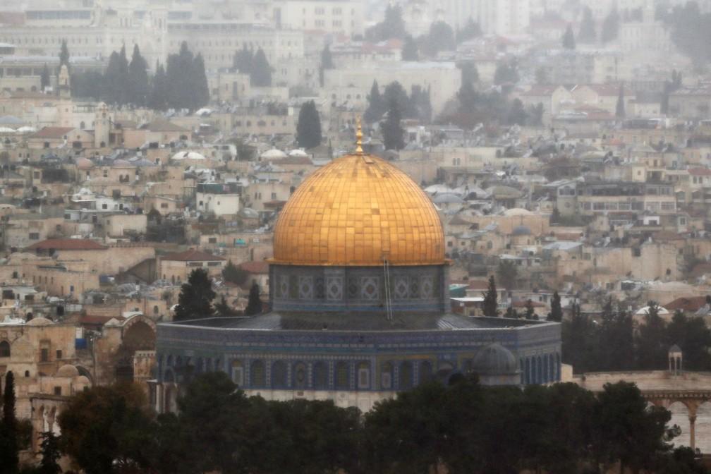 -  Foto mostra a cidade velha de Jerusalém nesta sexta-feira  6   Foto: Ammar Awad/ Reuters
