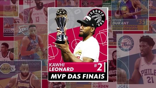 O cara da semana! Kawhi Leonard lidera o Toronto Raptors ao inédito título da NBA