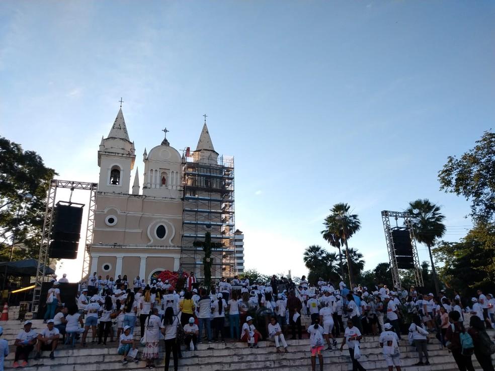 24ª Caminhada da Fraternidade em Teresina.  — Foto: Dalyne Barbosa/TV Clube