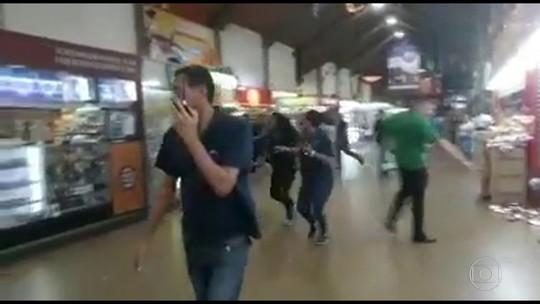 Tentativa de assalto dentro de shopping em Niterói provoca correria