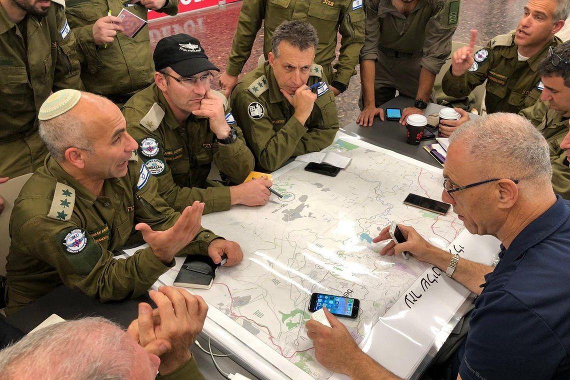 israelenses-israel-militares-ajuda-brumadinho (Foto: Forças de Defesa de Israel)