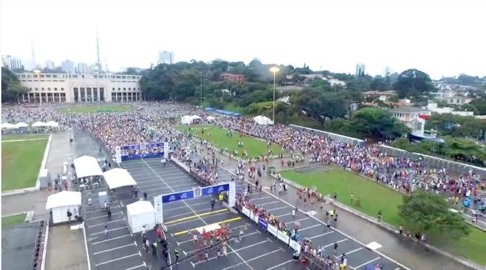 Maratona de São Paulo será realizada apenas em 11 de abril de 2021 — Foto: Divulgação/Yescom