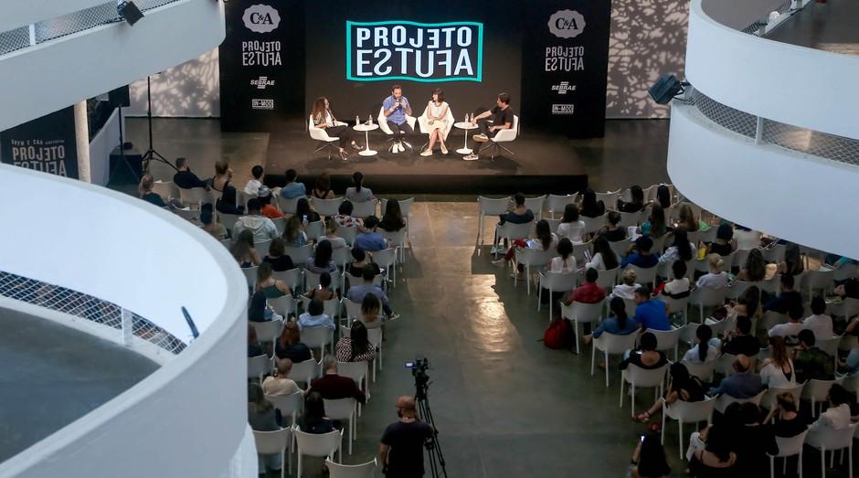 Projeto Estufa realização na edição de 2017 da SPFW (Foto: Reprodução/Agência Sebrae)
