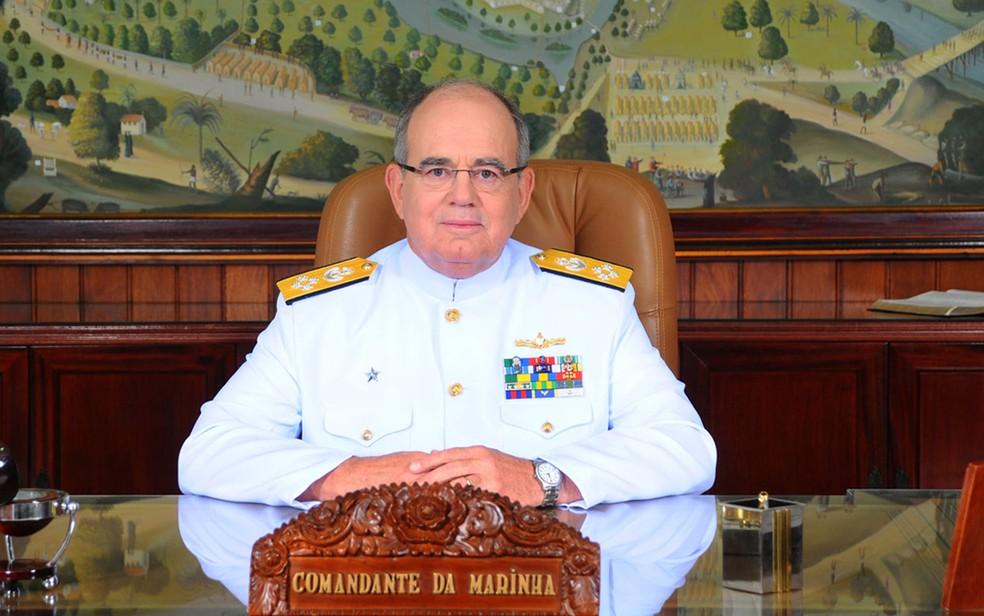Foto de arquivo: Eduardo Bacellar Leal Ferreira, presidente do Conselho de Administração, eleito pelo acionista controlador — Foto: Divulgação/Marinha