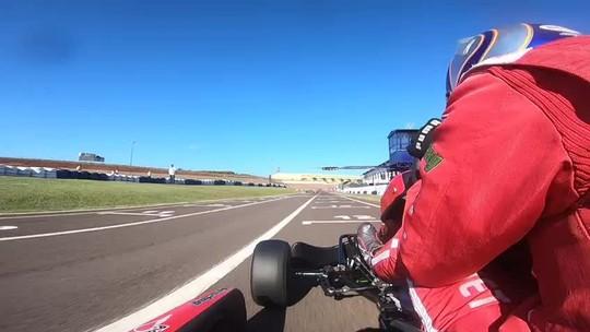 O jogo de xadrez dos pneus no Campeonato Brasileiro de Kart