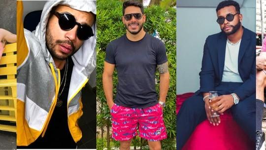 BBB21: veja o estilo de Fiuk, Projota, Rodolffo, Lucas Penteado e Nego Di