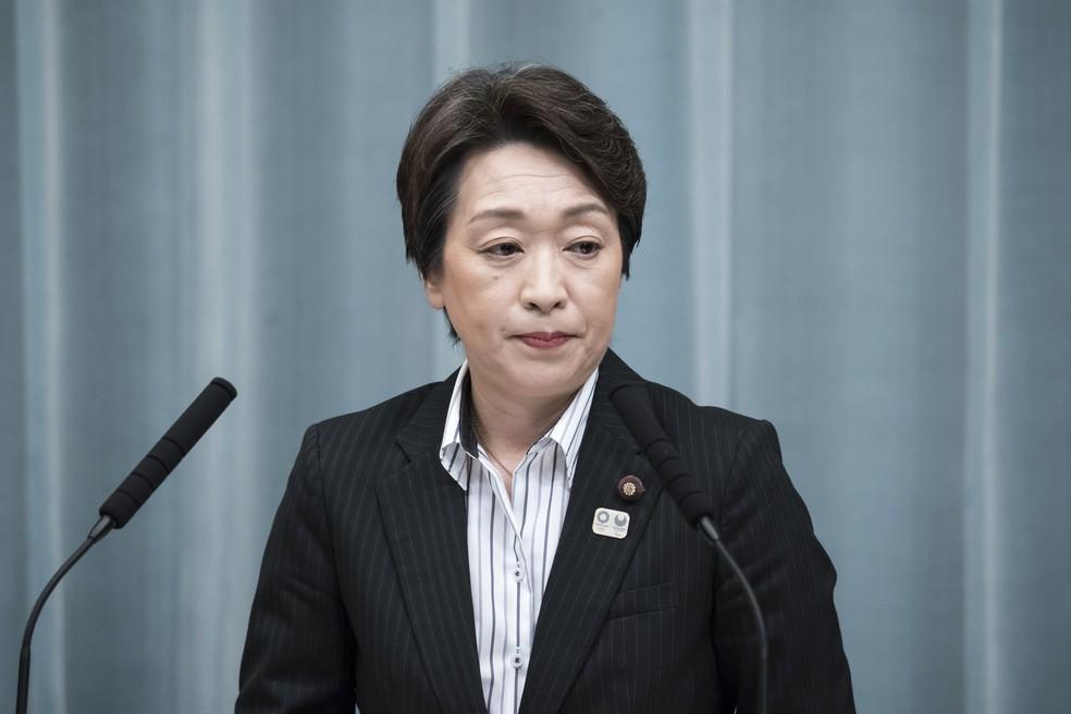 Seiko Hashimoto Ministra Tóquio 2020 — Foto: Getty Images