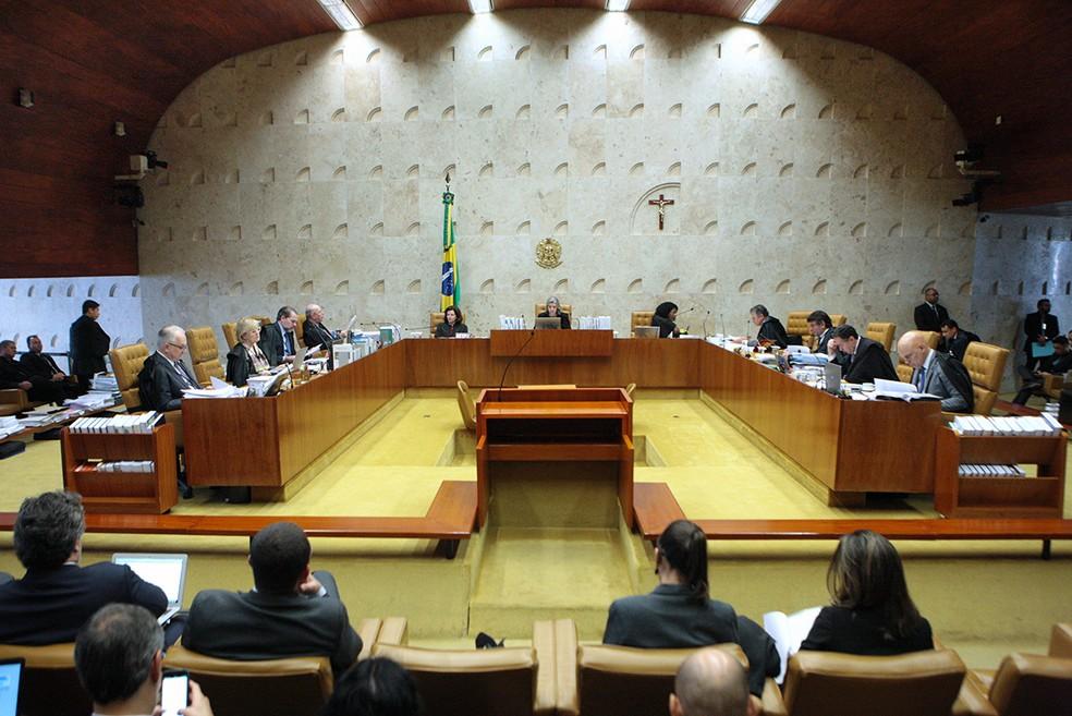 Plenário do Supremo julgará nesta quarta ações protocoladas pela PGR e pela AMB (Foto: Carlos Moura/SCO/STF)