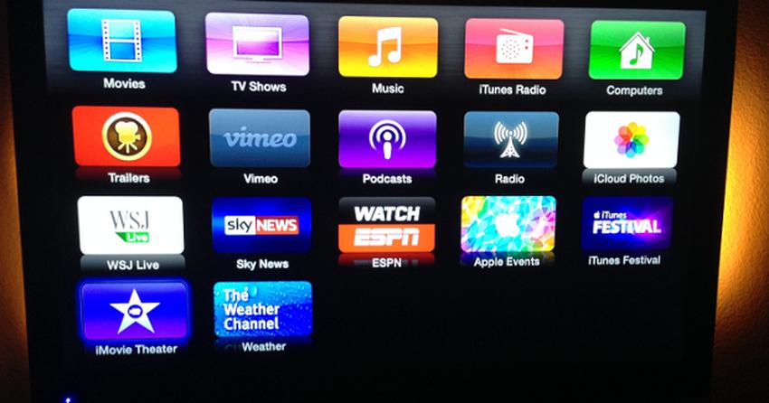 Apple TV recebe update para compartilhar vídeo com iOS e Mac via