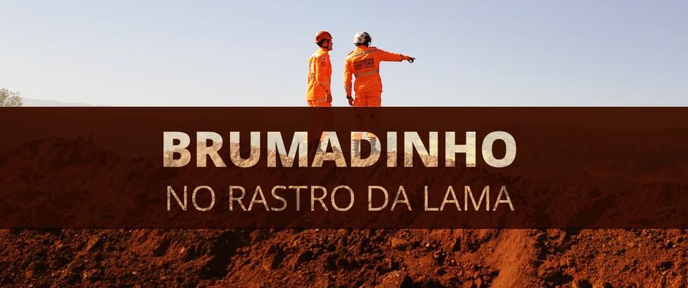 Brumadinho no rastro da lama — Foto: Editoria de Arte / G1