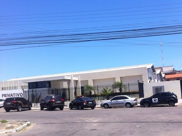 Polícia Federal realizou mandados de busca e apreensão em diferentes endereços de Fortaleza (Foto: Marília Cordeiro/G1)