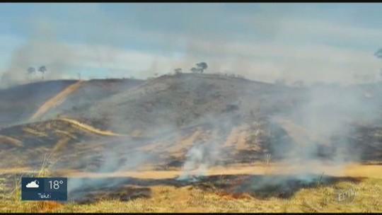 Suspeito de crime ambiental é preso após queimada perto de usina em Itapira