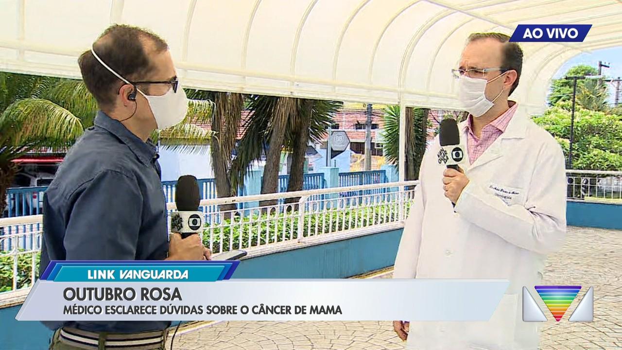 Médico esclarece dúvidas sobre o câncer de mama