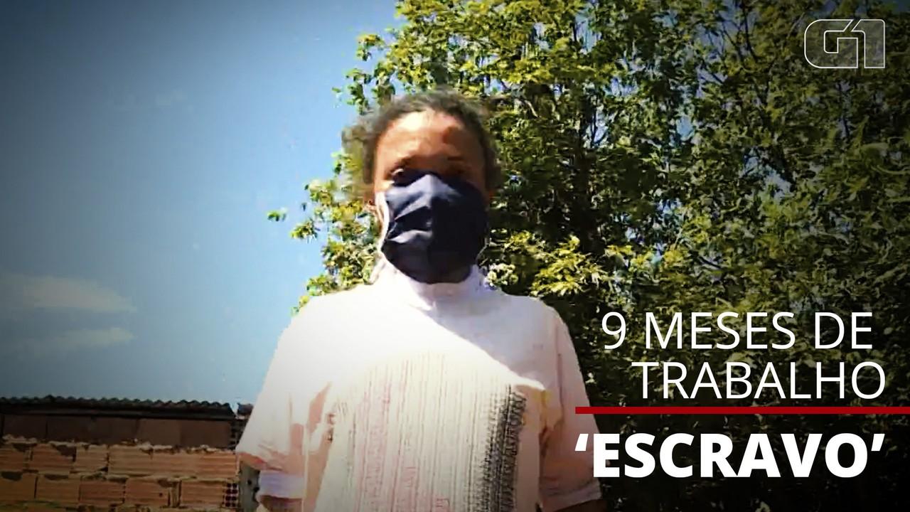 Mulher que viveu 9 meses em condição análoga à escravidão volta para casa
