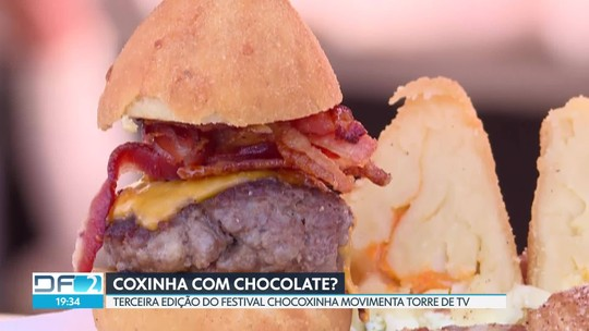 """Festival """"Chocoxinha"""" movimenta Torre de TV"""
