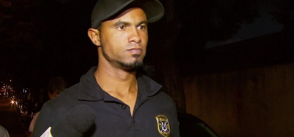 Goleiro Bruno cumpre pena em Varginha desde abril de 2017 — Foto: Reprodução/TV Globo