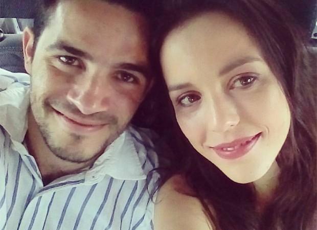 Vinícius Oliveira e Sara Antunes (Foto: Reprodução/Facebook)