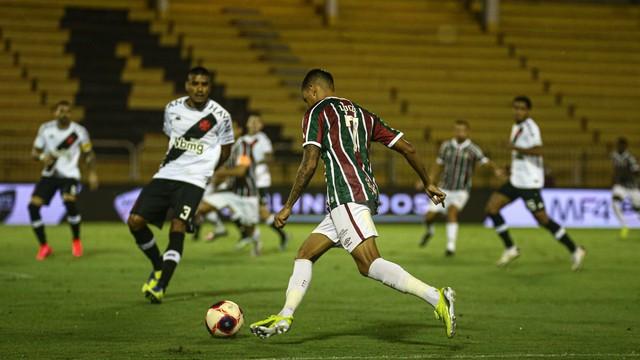 Lucca, em Fluminense x Vasco