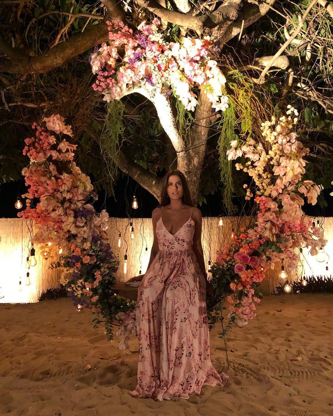 Antonia Morais no casamento de Camila e Klebber (Foto: reprodução/Instagram)