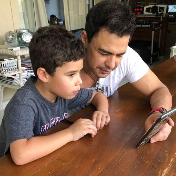 José Marcus e Zezé Di Camargo (Foto: Instagram/Reprodução)
