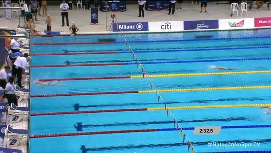 Joaninha desmaia após prova no Mundial de natação paralímpica; Brasil fica sem medalha no 2º dia