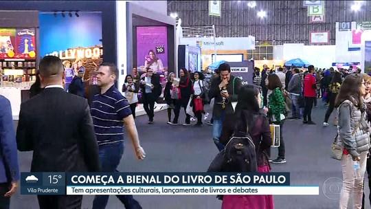 Começa a Bienal Internacional do Livro de São Paulo