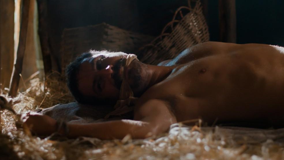 Tonico (Alexandre Nero) ficará desaparecido em 'Nos Tempos do Imperador' — Foto: Globo