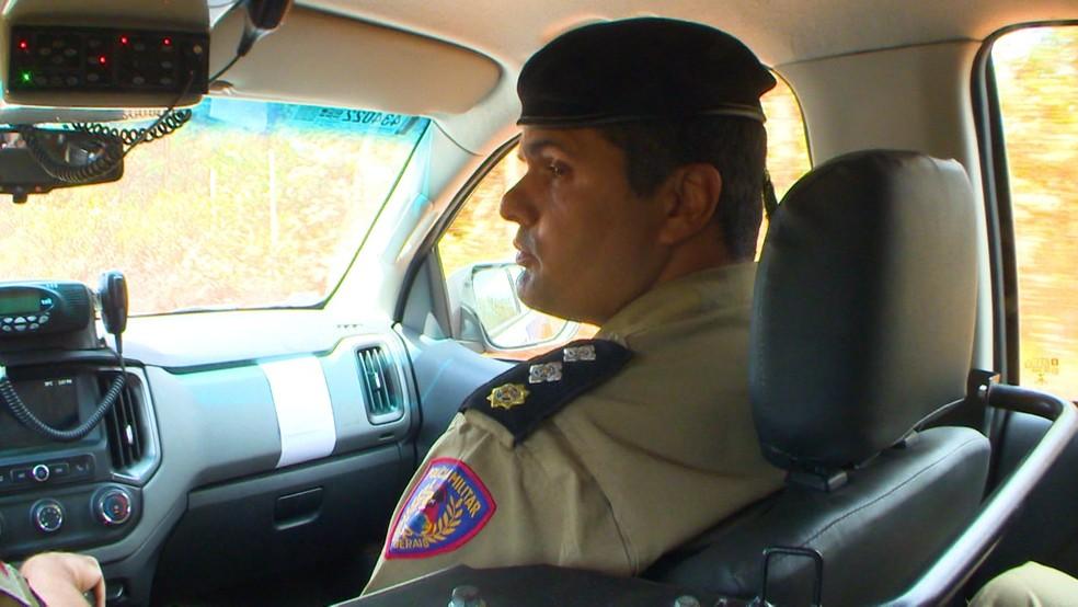 Major Santiago é o porta-voz da Polícia Militar de Minas Gerais — Foto: Jorge Soares/G1