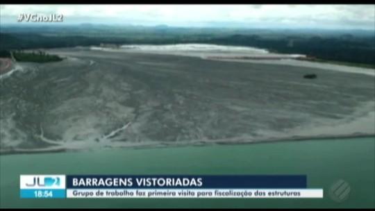 Grupo de trabalho inicia vistorias para fiscalizar barragens do Pará