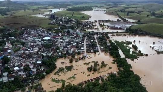 Chuva tira 561 pessoas de casa em 10 cidades do Espírito Santo